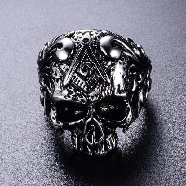 ring head of dead crowned laurel steel 75 money at sell