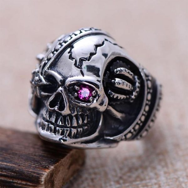 ring head of dead dead inevitable money 14 72mm jewel head of death