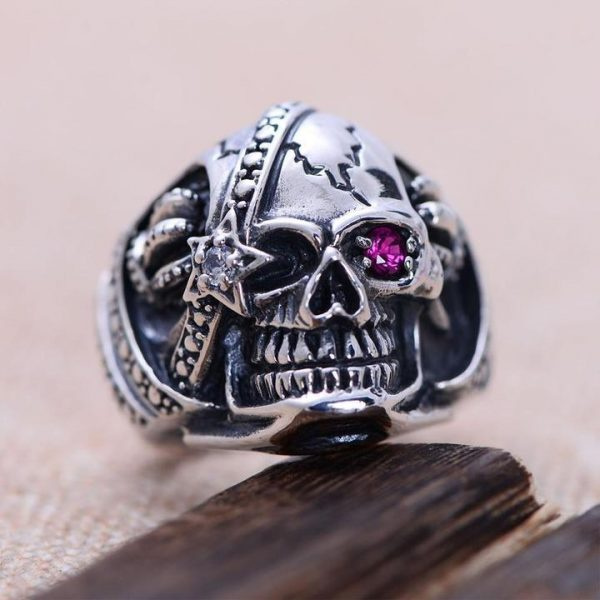 ring head of dead dead inevitable money 14 72mm skull kingdom