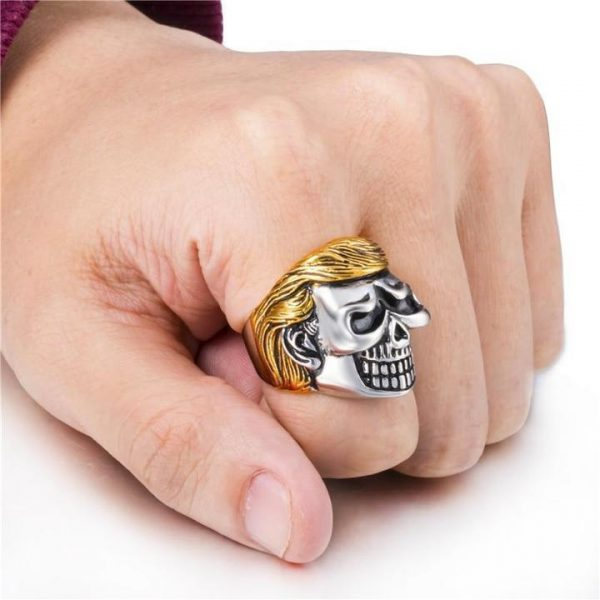 ring head of dead donald trump 15 75 mm price