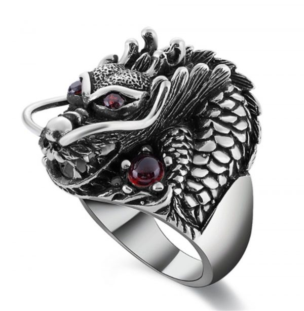 ring head of dead dragon demonic 12.67.5mm price