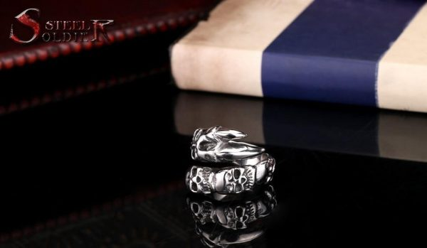 ring head of dead dragon mystical steel 70 to sell