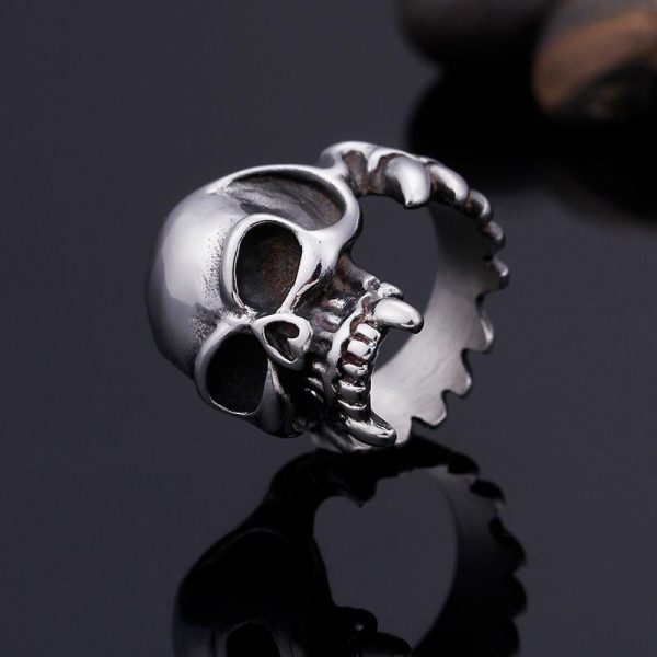 ring head of dead fangs of vampire steel 65 not dear