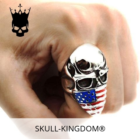 ring head of dead flag usa 15 75 mm