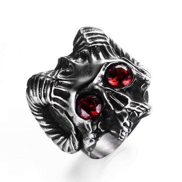 ring head of dead goat of mendes steel 70 price