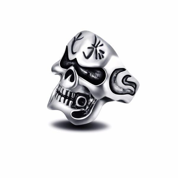 ring head of dead godfather 15 75 mm jewel head of death