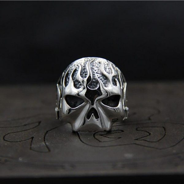 ring head of dead harley inflamed money ring head of death