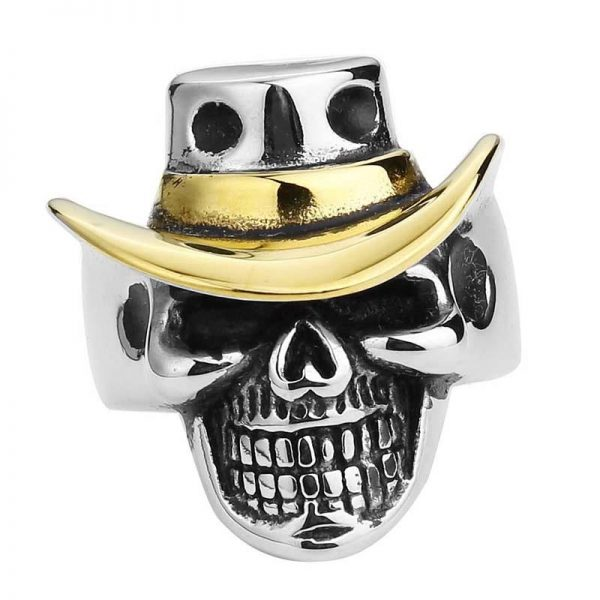 ring head of dead hat 15 75 mm gold