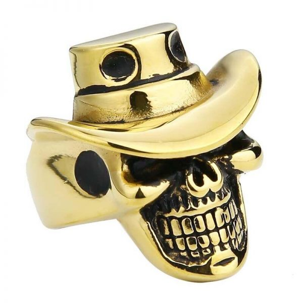 ring head of dead hat 15 75 mm gold price