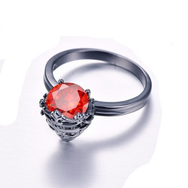 ring head of dead king red steel 60 red