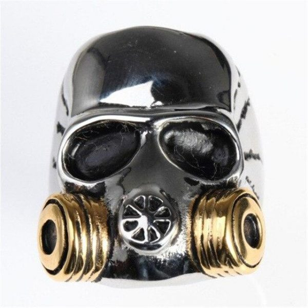 ring head of dead mask at gas steel 75 money at sell