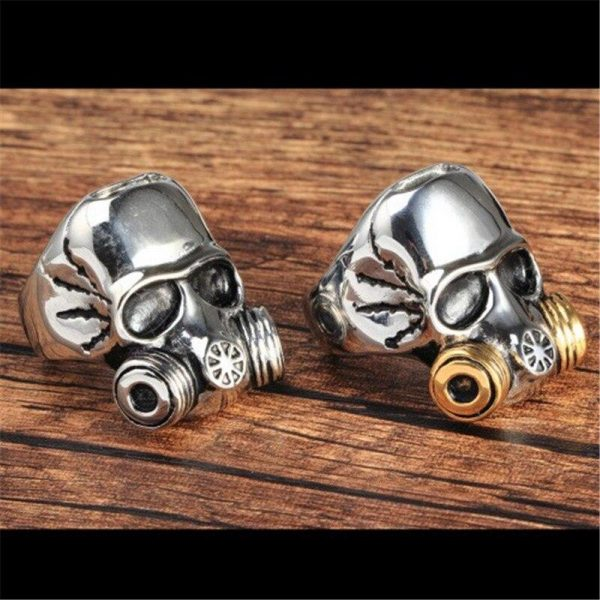 ring head of dead mask at gas steel 75 money buy