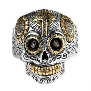 ring head of dead mexican money 14 72mm