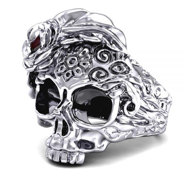 ring head of dead mexican women 13 69mm at sell