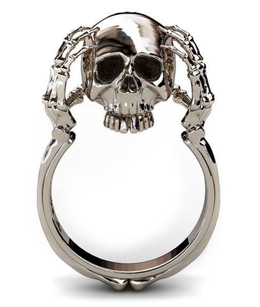 ring head of dead mind tormented steel 57 or ring head of death