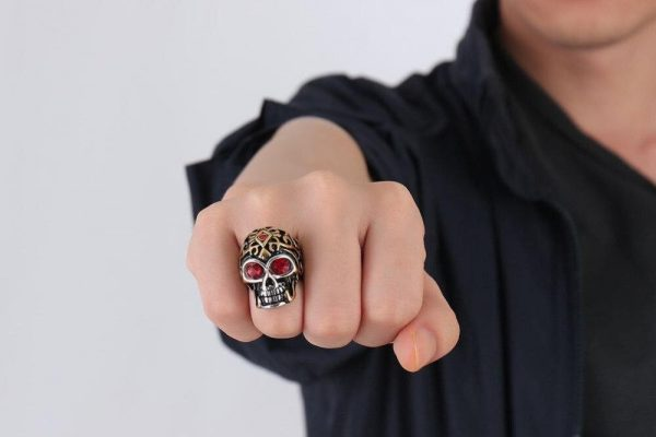 ring head of dead ornaments holy steel 67
