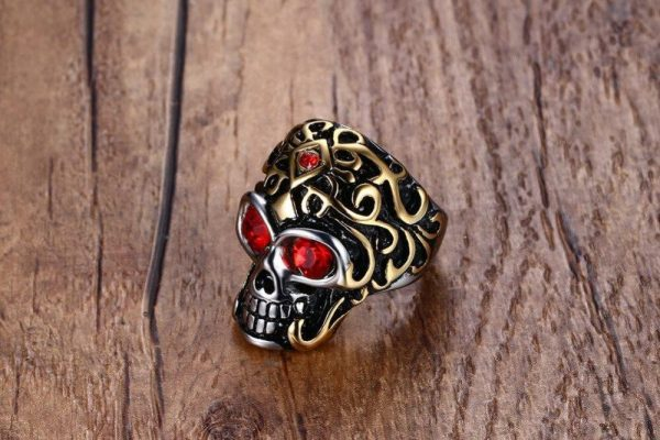 ring head of dead ornaments holy steel 67 buy