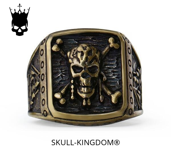 ring head of dead pirate 13 69mm golden price