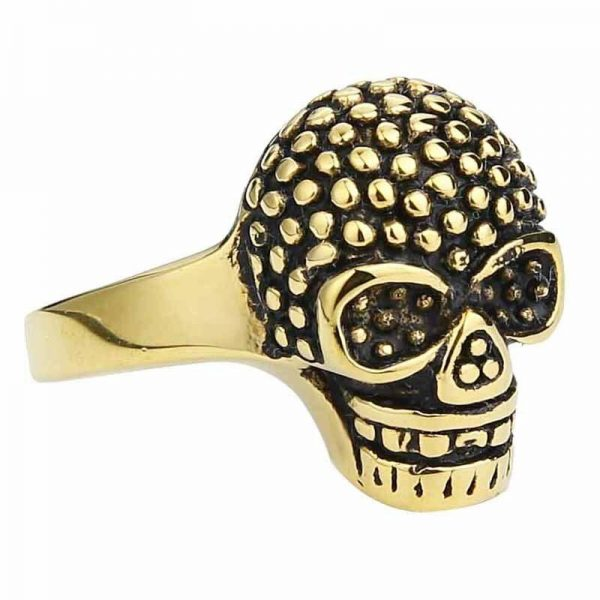 ring head of dead rhinestones fancy golden 15 75 mm at sell