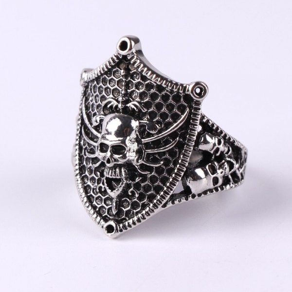 ring head of dead shield of knight steel 72 price