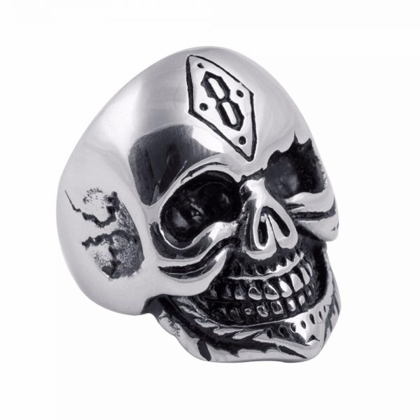 ring head of dead signet ring punk steel 69 buy