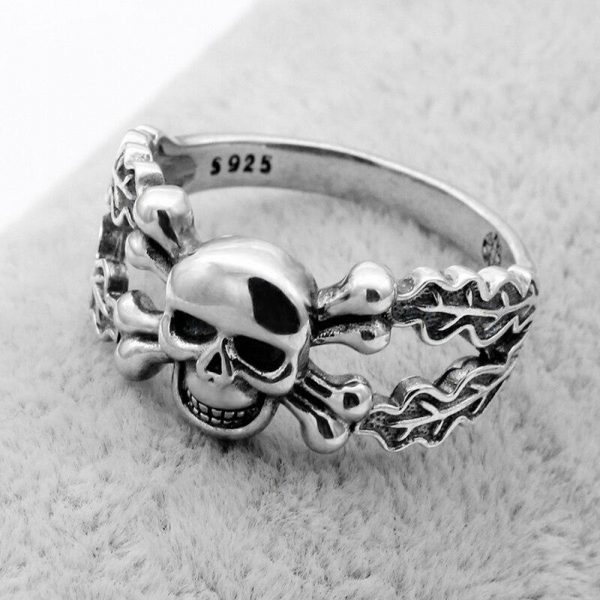 ring head of dead skull and bone money 13 69mm price