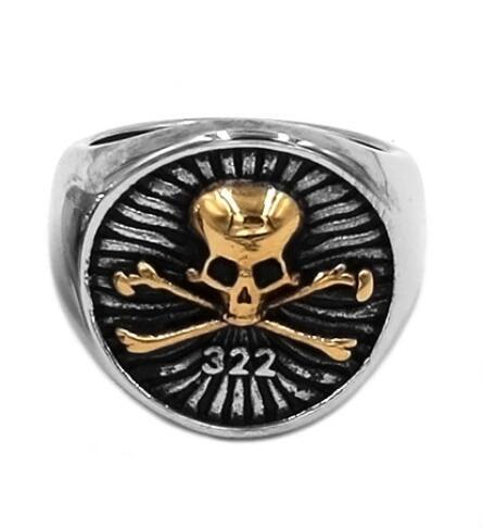 ring head of dead skull and bones steel 69 or at sell