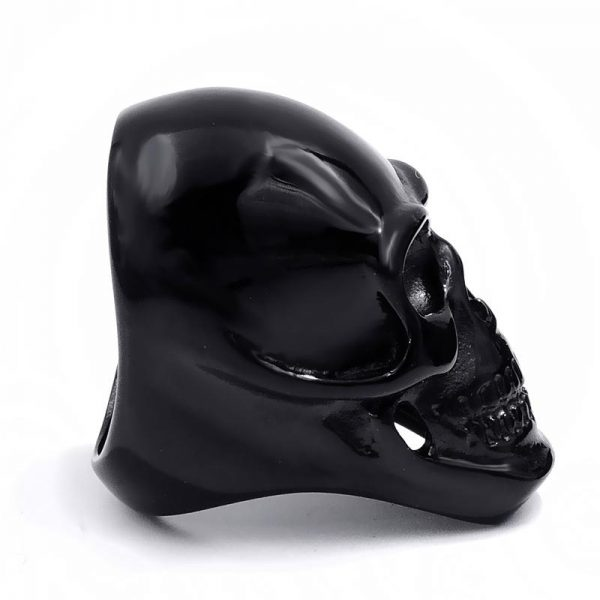 ring head of dead skull black steel 75 to sell