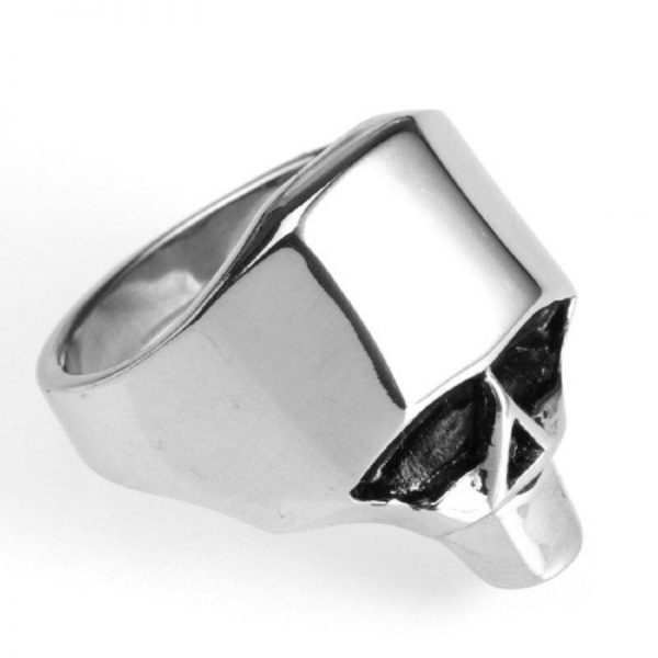 ring head of dead skull geometric steel 75 skull kingdom