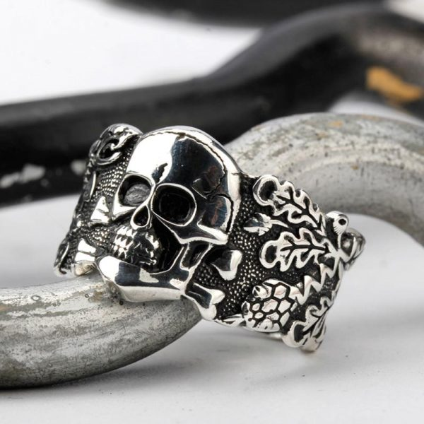 ring head of dead skull gothic money 66 to sell