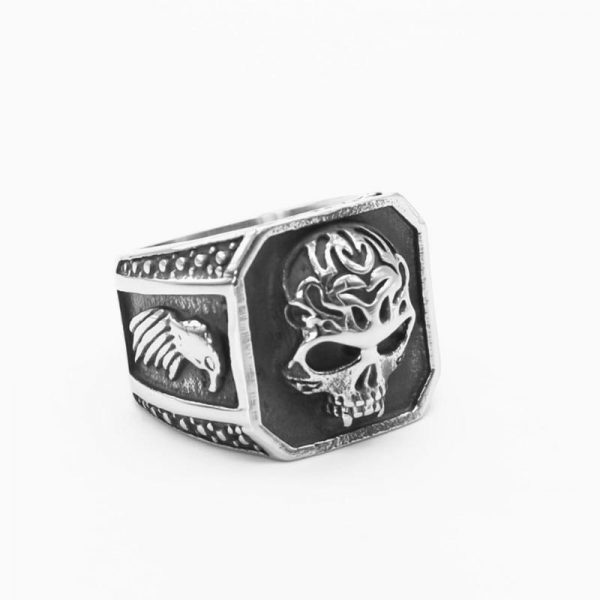 ring head of dead skull gothic steel 72 skull kingdom