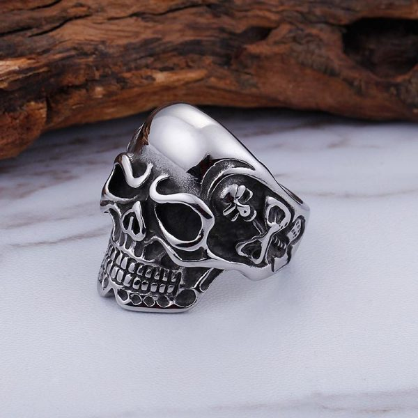 ring head of dead skull of darkness steel 70 buy