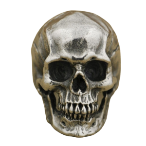 ring head of dead skull steel 15 75 mm skull kingdom