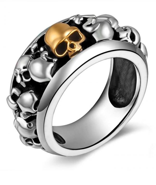 ring head of dead skulls aztecs money 66 skull kingdom