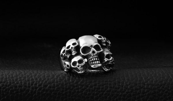 ring head of dead souls devilish steel 70 to sell