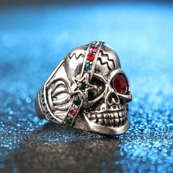 ring head of dead star 12.67.5mm skull kingdom