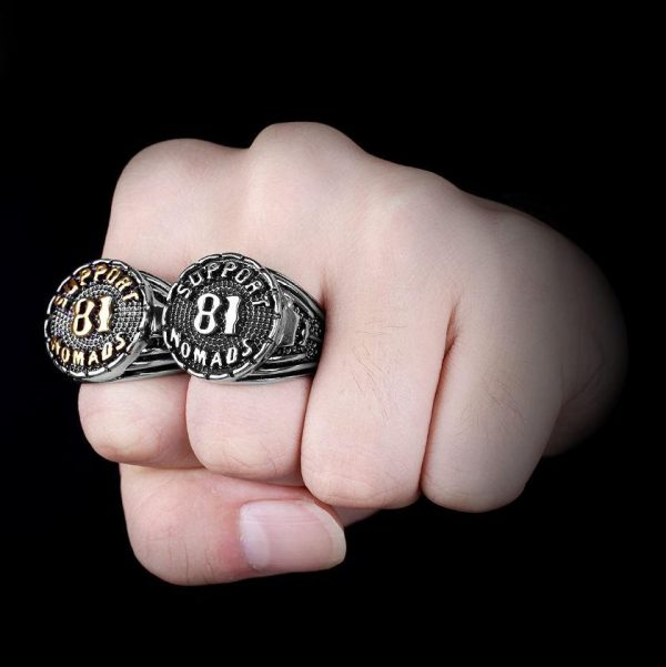 ring head of dead support hells angels 14 72 3 mm money price