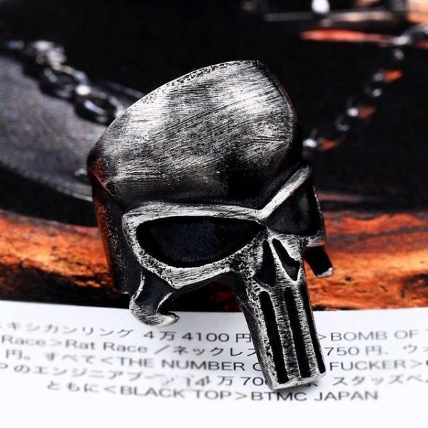ring head of dead tea punisher steel 70 mate ring head of death