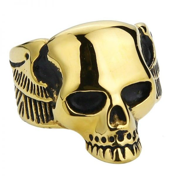 ring head of dead wings golden 15 75 mm at sell