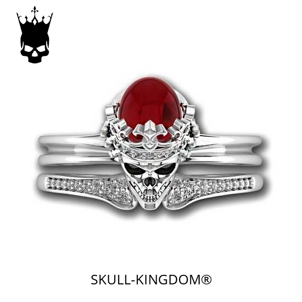 ring head of dead women crowned red 12 67mm at sell