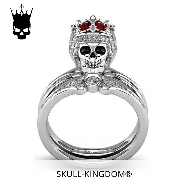 ring head of dead women crowned red 12 67mm buy