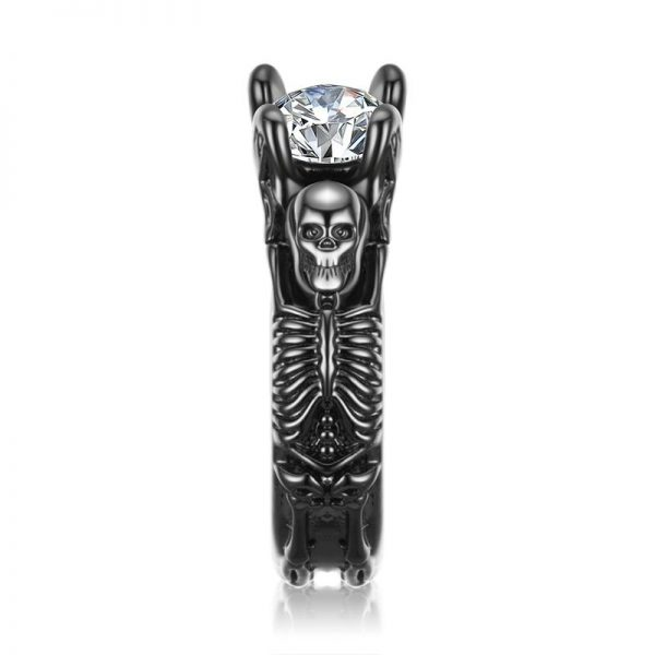 ring head of dead women skeleton 11 64 5mm at sell
