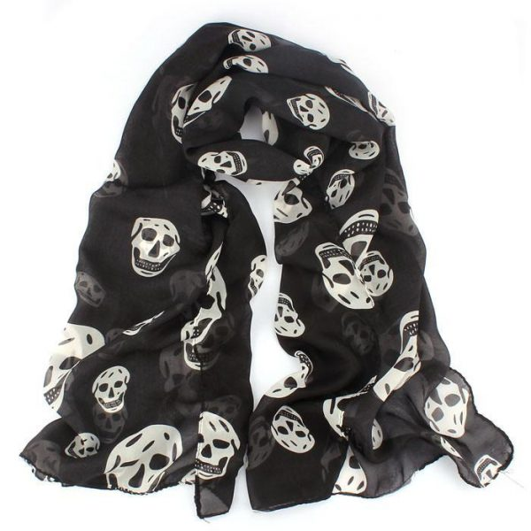 scarf head of dead mexican black buy