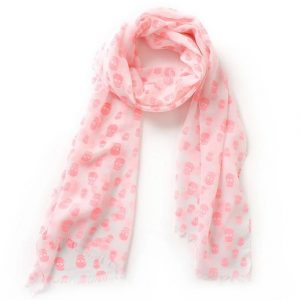 scarf head of dead pink buy