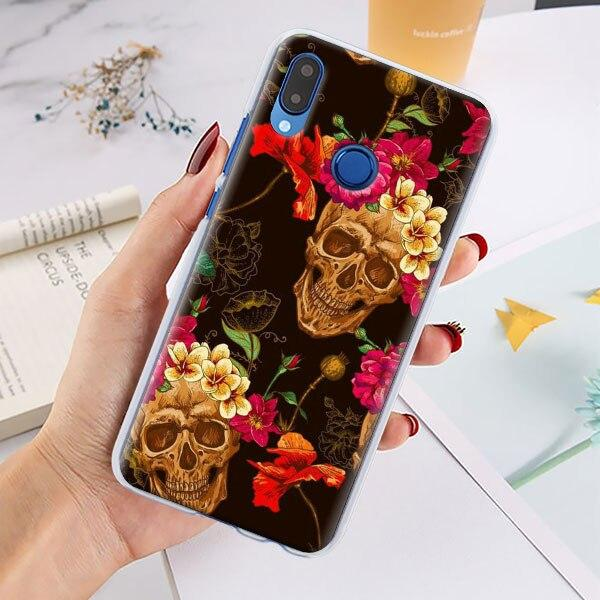 shell head of dead huawei skull style huawei y6p at sell