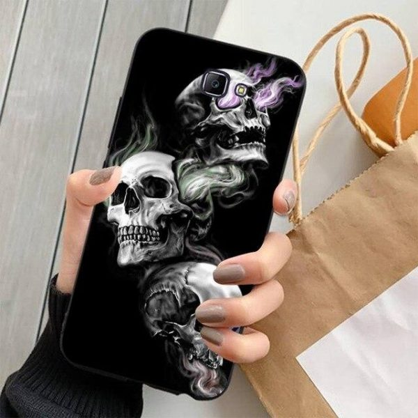 shell head of dead samsung trio of skulls j5 premium not dear