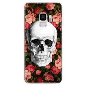 shell head of dead skull flowery samsung core premium g360 at sell
