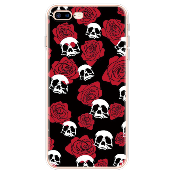Life in pink skull iphone case