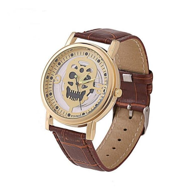 shows head of dead 2 colors brown watch head of death