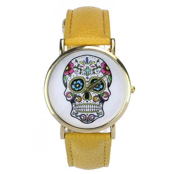 shows head of dead mexican 8 colors yellow buy